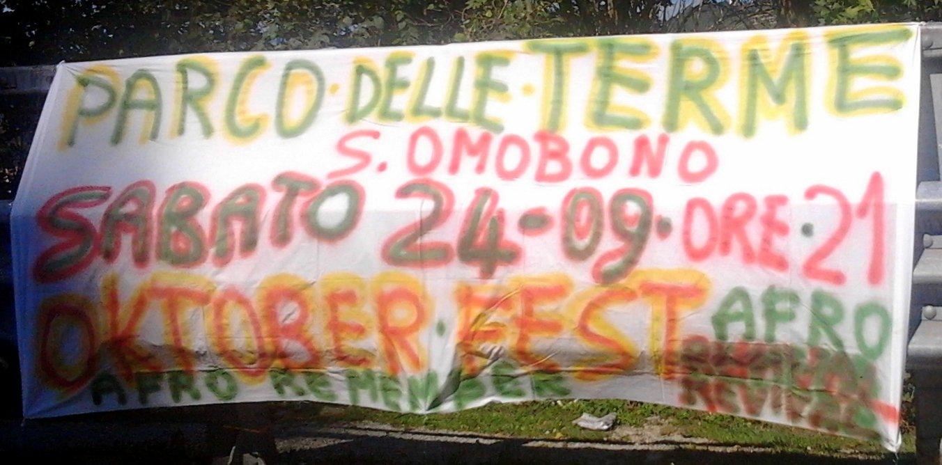 Striscione OktoberFest S.Omobono