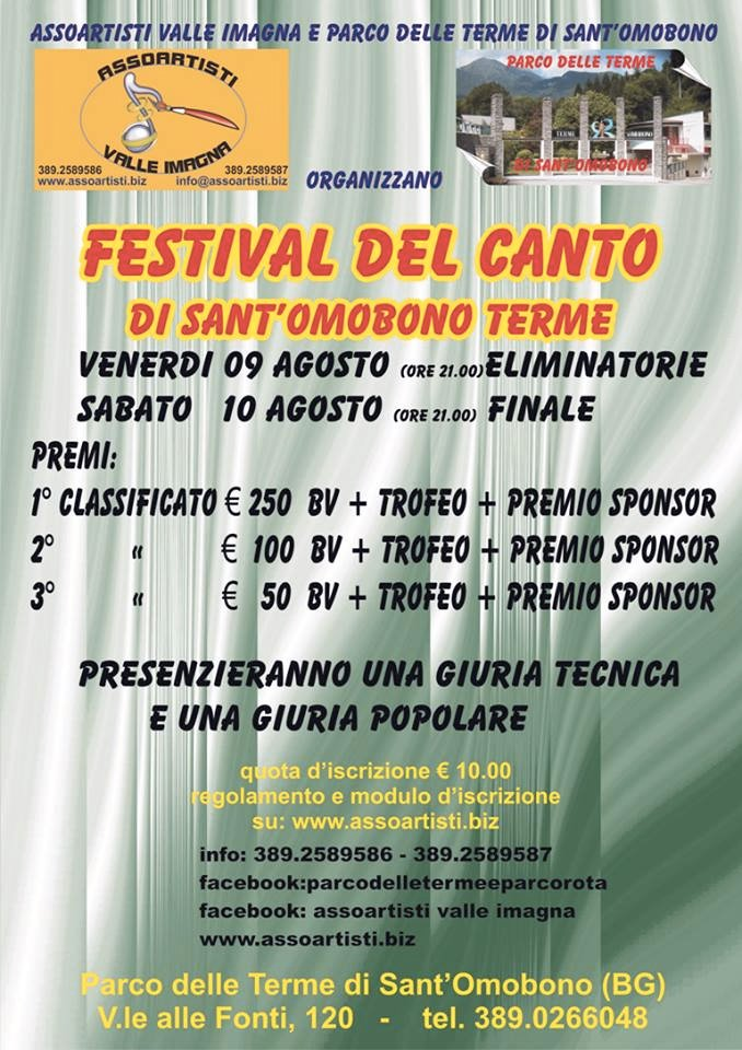 Festival del Canto 2013