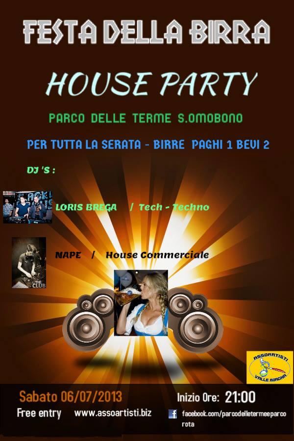 House Party - Parco delle Terme