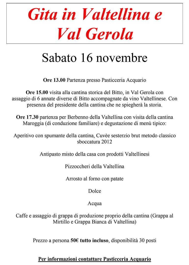 Gita in Valtellina