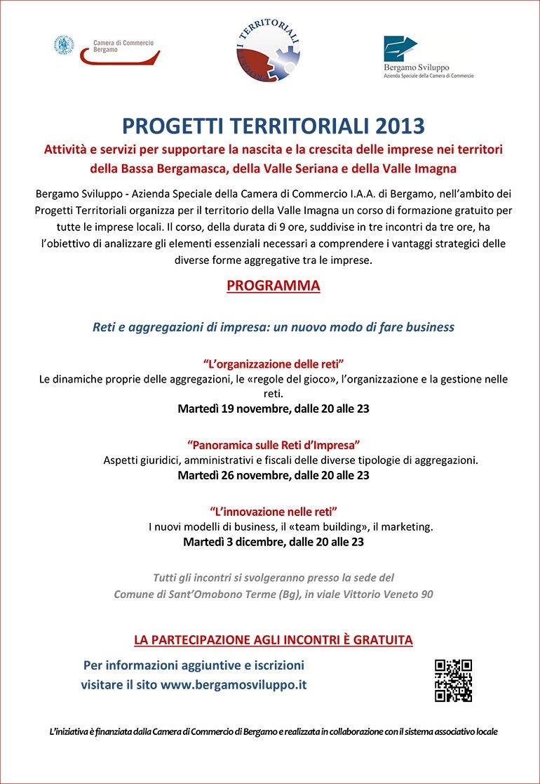 Progetti territoriali 2013