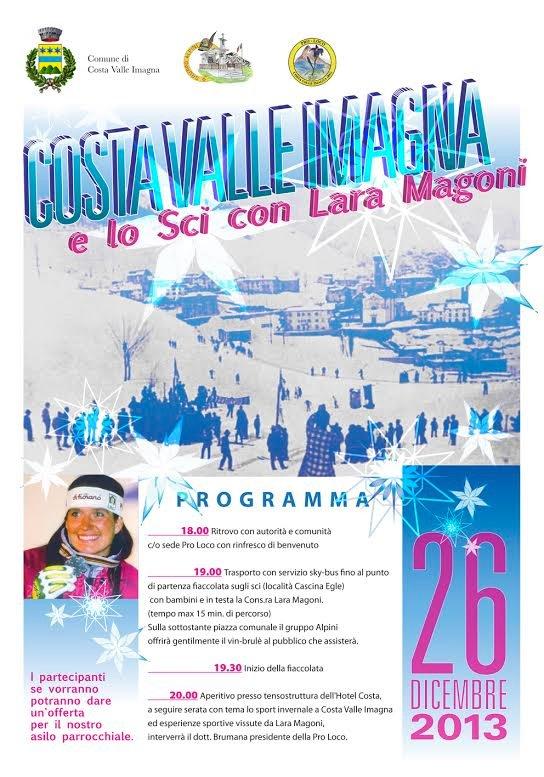 Costa Valle Imagna e lo sci con Lara Magoni