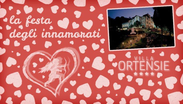 La festa degli innamorati - Villa Ortensie