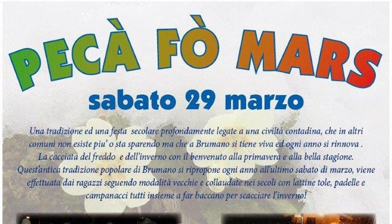 Peca fò mars 2014 - Brumano