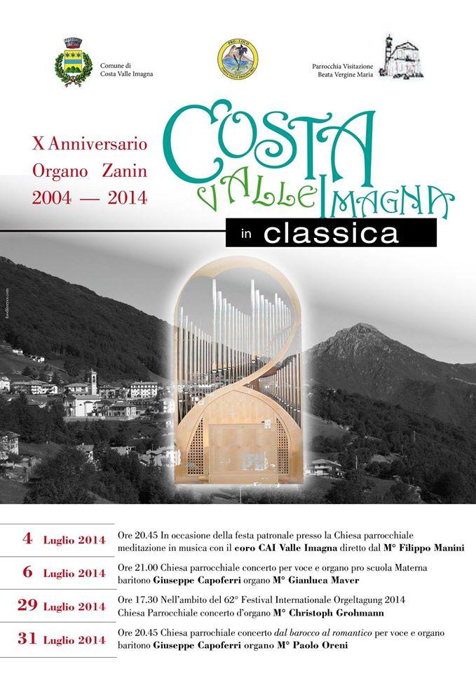 Costa Valle Imagna In Classica