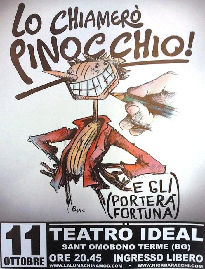 Lo chiamerò Pinocchio