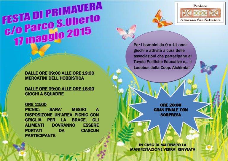 Festa di primavera 2015