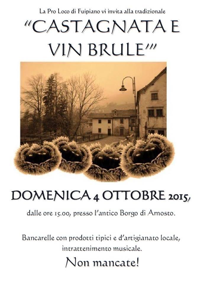 castagnata e vin brulè fuipiano valle imagna