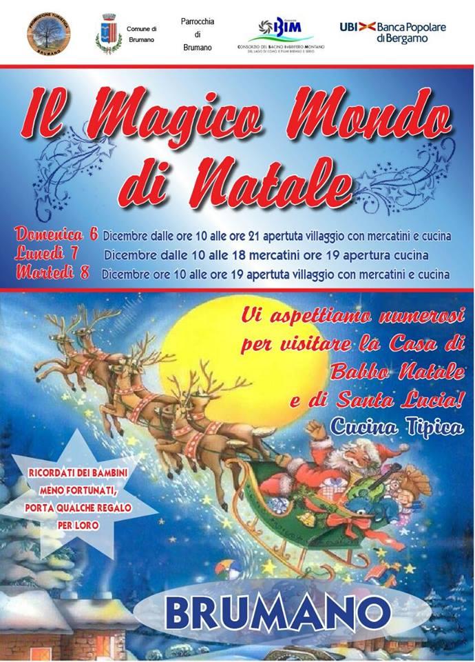 Magico mondo di Natale a Brumano