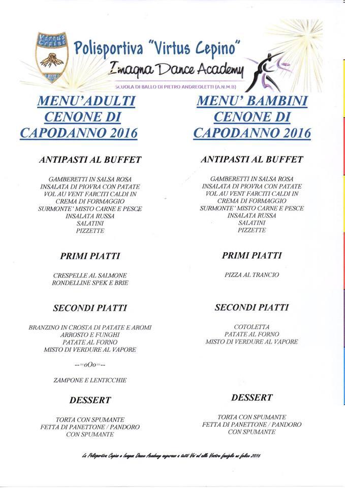 Capodanno 2016 - polisportiva virtus cepino, imagna dance academy