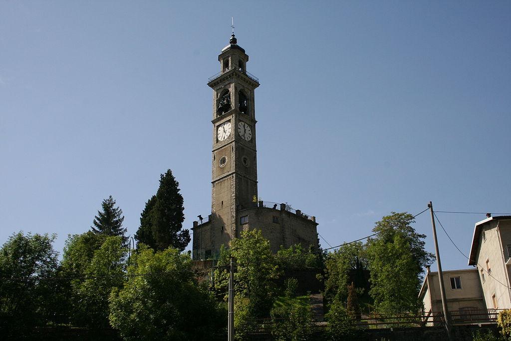 Rota Imagna - la chiesa parrocchiale