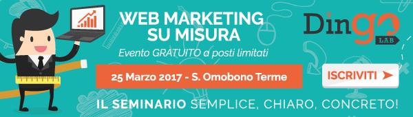 Banner web marketing su misura