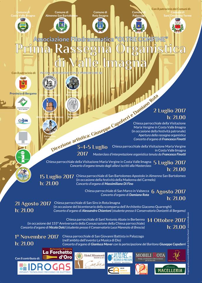 Rassegna organistica Valle Imagna