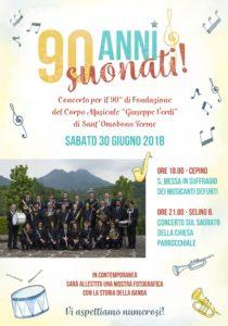 90 anni suonati corpo musicale Sant'Omobono Terme