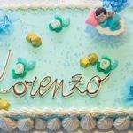torta battesimo pasticceria acquario