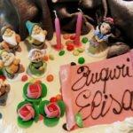 torta compleanno personaggi disney pasticceria acquario