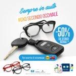 promozione secondo occhiale foto ottica carminati