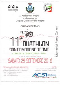 duathlon a Sant'Omobono Terme 2018