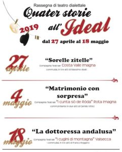 quater storie all'ideal 2019