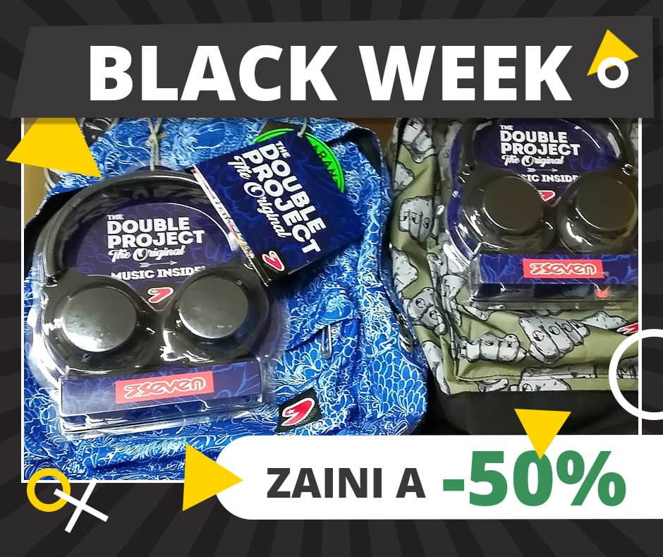 Black Week - zaino Seven Double Project