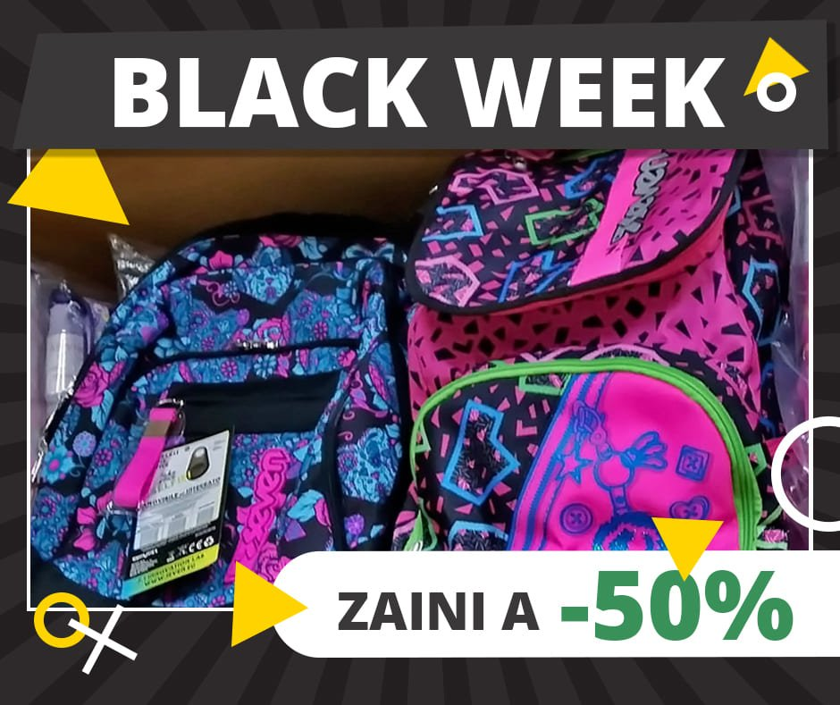 Black Week - zaino Seven Fantasy