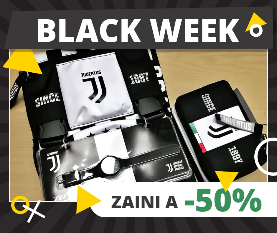 Black Week - Zaino Juventus