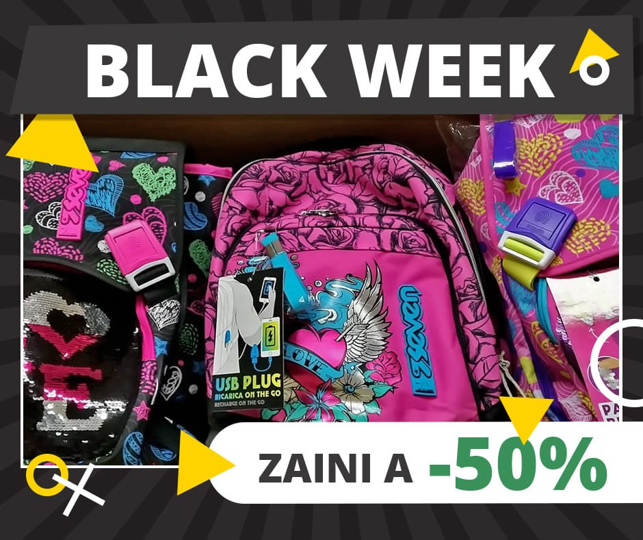 Black Week - zaino Seven Love