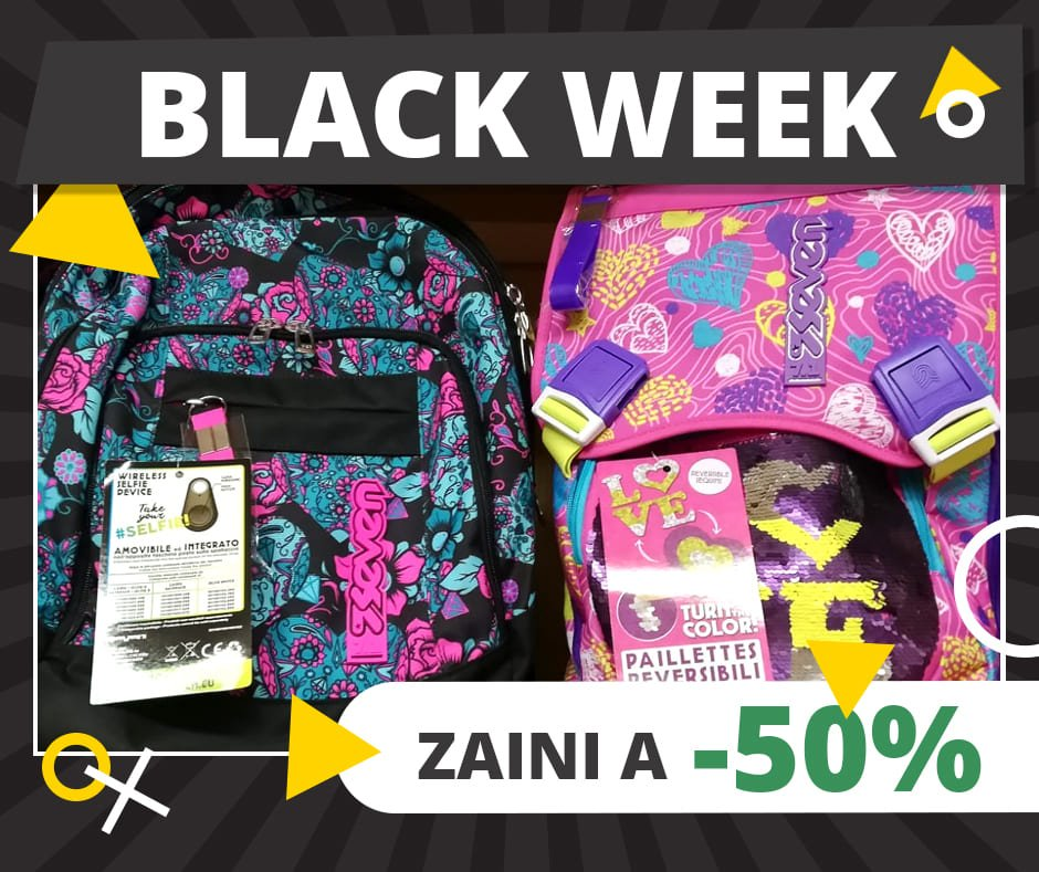 Black Week - zaino Seven Love - 2